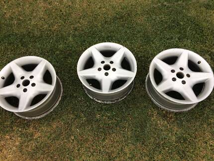 7 x Holden Commodore VR VS Clubsport style Mag Wheel Rims