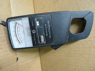 Micronta Ac Volt Amp Meter 22161 Vintage Electronic Test Equipment