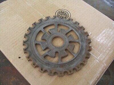 1 Vintage Cast Iron Ih Planter Plate 474666r1 International Harvester Lot Aaa