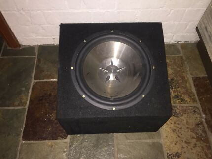 Subwoofer Clarion 12 inch in Box