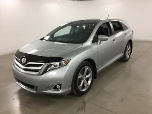 2016 Toyota Venza Limited V6 4WD GPS*Toit Pano*Cuir*Camera Recul