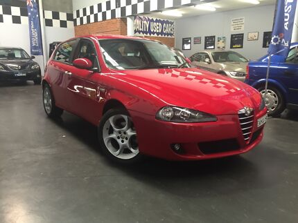 06 Alfa Romeo 147 sports hatchback,excellent condition throughout Ingleburn Campbelltown Area Preview