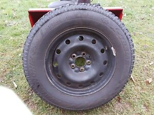 Snow tires off a 2005 Chevy uplander
