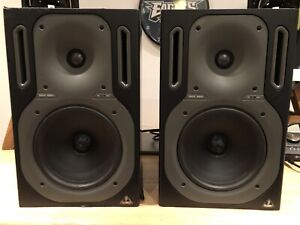 Pair of Behringer Truth B3021 reference monitor speakers