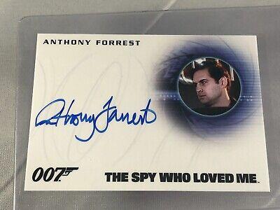 Anthony Forrest AUTO Autograph 007 James Bond #A275 2015 card