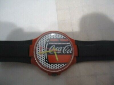 VINTAGE ANDY WARHOLE STYLE COCA COLA SWATCH WATCH