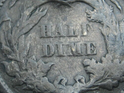 1866 Seated Liberty Half Dime