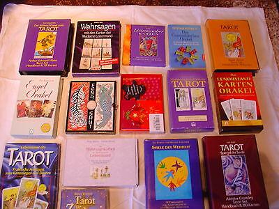 Tarotkarten,Lenormand, Kipper, Runen, Zigeuner,Pendel, Orakel, Engelkarten uvm