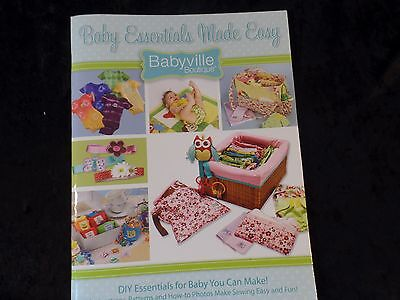 Babyville Boutique DIY Cloth Diaper Pattern Book ](Diy Diaper)