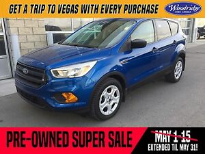 2017 Ford Escape S PRE-OWNED SUPER SALE ON NOW!