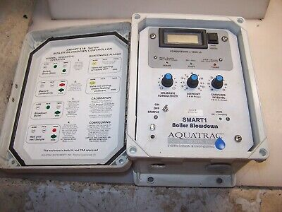 AQUATRAC SMART1 BOILER BLOWDOWN CONTROLLER S1B