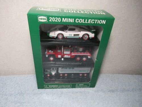 2020 Hess Mini Truck Collection – 3 Vehicles in one set Brand new in sealed box!
