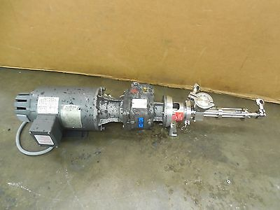 Nord 02f 56c2.0 Stainless Ss Gear Motor Pump 12hp 230460v 3ph 5.571 Ratio