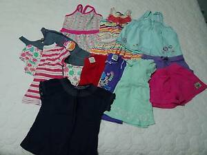 Girls size 2 summer clothes Bethania Logan Area Preview