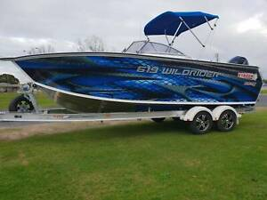 619 WildRider, trailer & 150hp Mercury 4 stroke East Bunbury Bunbury Area Preview