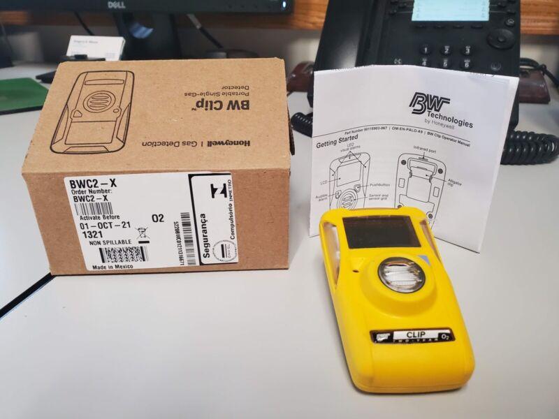 Honeywell BW Clip Portable Single Gas Detector Model# BWC2-X