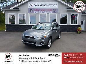 2013 Mitsubishi RVR GT AWD! ROOF! OWN FOR $161 B/W, 0 DOWN, OAC