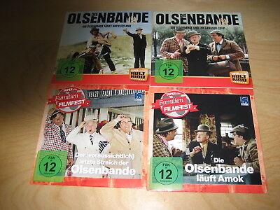 Die Olsenbande fährt nach Jütland + der grosse Coup + läuft Amok DDR DEFA 4 DVDs