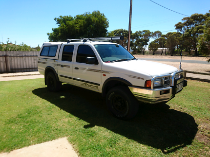 2002 Ford PE Courier Turbo Diesel 4x4 dual cab  Kadina Copper Coast Preview