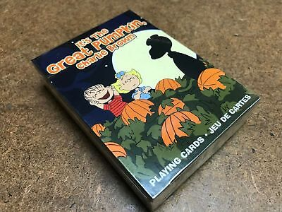 Charlie Brown - Halloween Playing Cards Deck Brand New