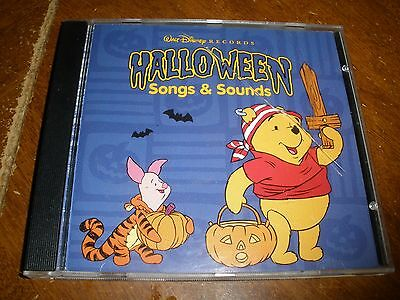 Halloween Songs & Sounds by Disney (CD, Sep-2001, Walt Disney) (Disney Halloween Songs)
