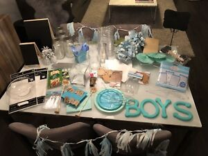 Baby Shower Lot - Blue