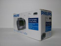 Philips AJ3540/37 Large Display Digital AM/FM Alarm Clock Radio