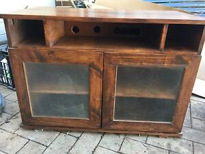 Wooden TV Unit Dulwich Hill Marrickville Area Preview
