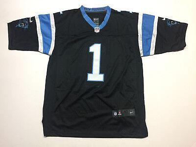 Cam Newton #1 Carolina Panthers Football Men's Black Jersey Brand New Black Carolina Panthers Football Jersey