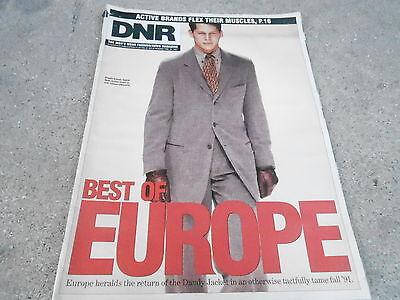 FEB 18 1991 DNR mens fashion magazine BEST OF EUROPE - Giorgio