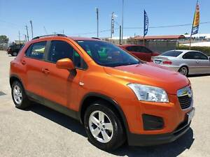 2014 Holden Trax TJ MY14 LS Orange 6 Speed Automatic Wagon Welshpool Canning Area Preview