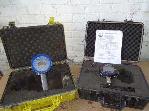 Vaetrix Gauge 1 & 2 Digital Test Pressure Gauge 5000psi  Hydrostatic hydraulic