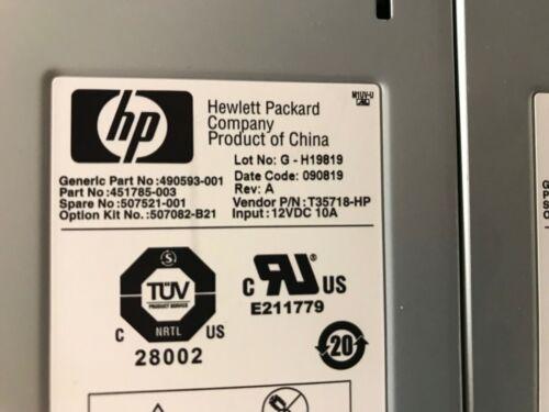 HP 507082-B21 451785-003 Single Active Cool Fan 507521-001 490593-001