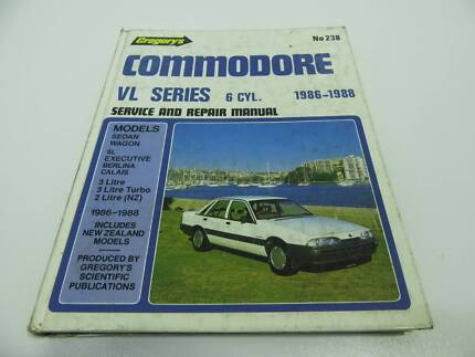 HOLDEN VL COMMODORE WORKSHOP REPAIR MANUAL 6 CYL 1986 - 1988 RB30