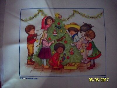 CHRISTMAS VERY EASY CRAFT KIT PICTURE TO MAKE--(SMALL WORLD)---#4635