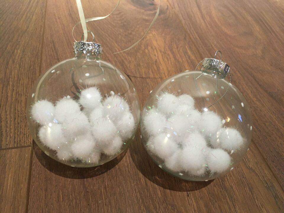 Christbaumkugeln Baumschmuck Weihnachtsdeko Schneekugel Glas in Nordrhein-Westfalen - Krefeld