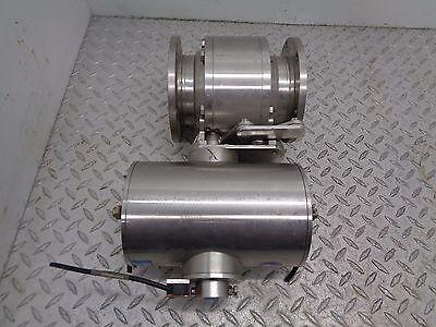 Pneumatic Actuator Compressor Butterfly Valve 4