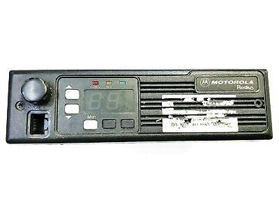 Motorola Radius 45 Watt Mobile Radio D34lra77a5bk Used