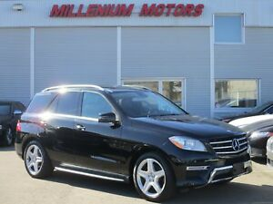 2013 Mercedes-Benz M-Class ML 350 BlueTEC 4MATIC DIESEL / AMG /