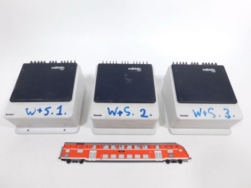 CS867-2 #3x Märklin Digital H0/AC 6015 Booster, Used