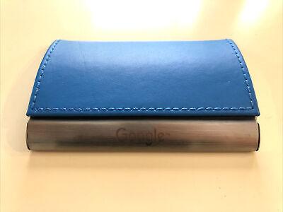 Google Aluminum Blue Business Card Holder