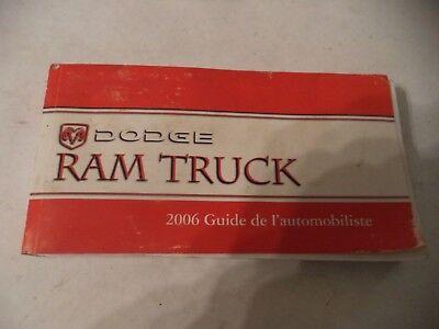 "2006 DODGE RAM 1500 ST/SLT OWNERS MANUAL ""SPANISH"""