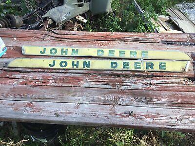 John Deere 2010 Raised Letter Hood Emblems