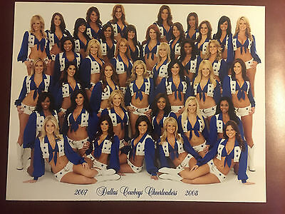 2007-2008 Dallas Cowboys Cheerleaders DCC Team Squad Pic Photo Melissa - Dallas Cowboys Cheerleader