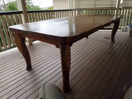 Mackay Cedar Slab Timber Table Greenslopes Brisbane South West Preview