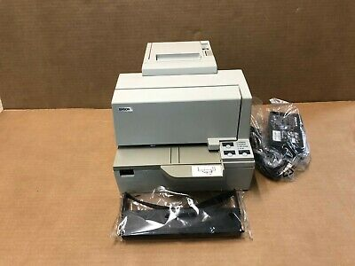 Epson Tm-h5000ii Pos Thermal Printer Check Reader M128c