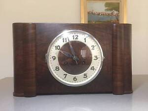 "40's ""bim-bam"" chime mantle clock made in Germany Albury Albury Area Preview"
