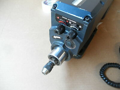 Sugino Selfeeder Mechatric Msp 3063 7500 Rpm Drill 220 3 Phase