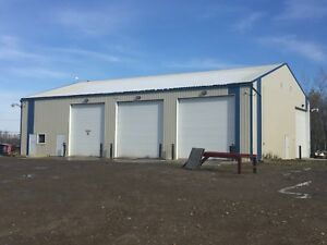 Shop for lease in Dawson creek British Columbia