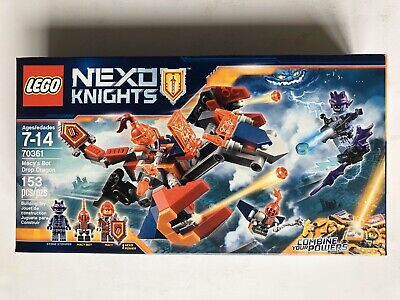 LEGO Nexo Knights 70361 Macy's Bot Drop Dragon - New Sealed
